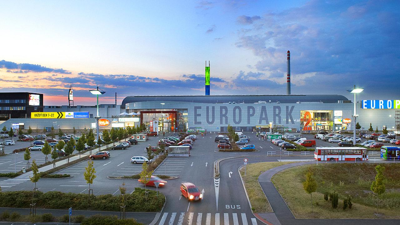 Europark byl otevřen v roce 2002 a ročně ho navštíví více než čtyři miliony zákazníků. Dnes je v něm 73 obchodů.