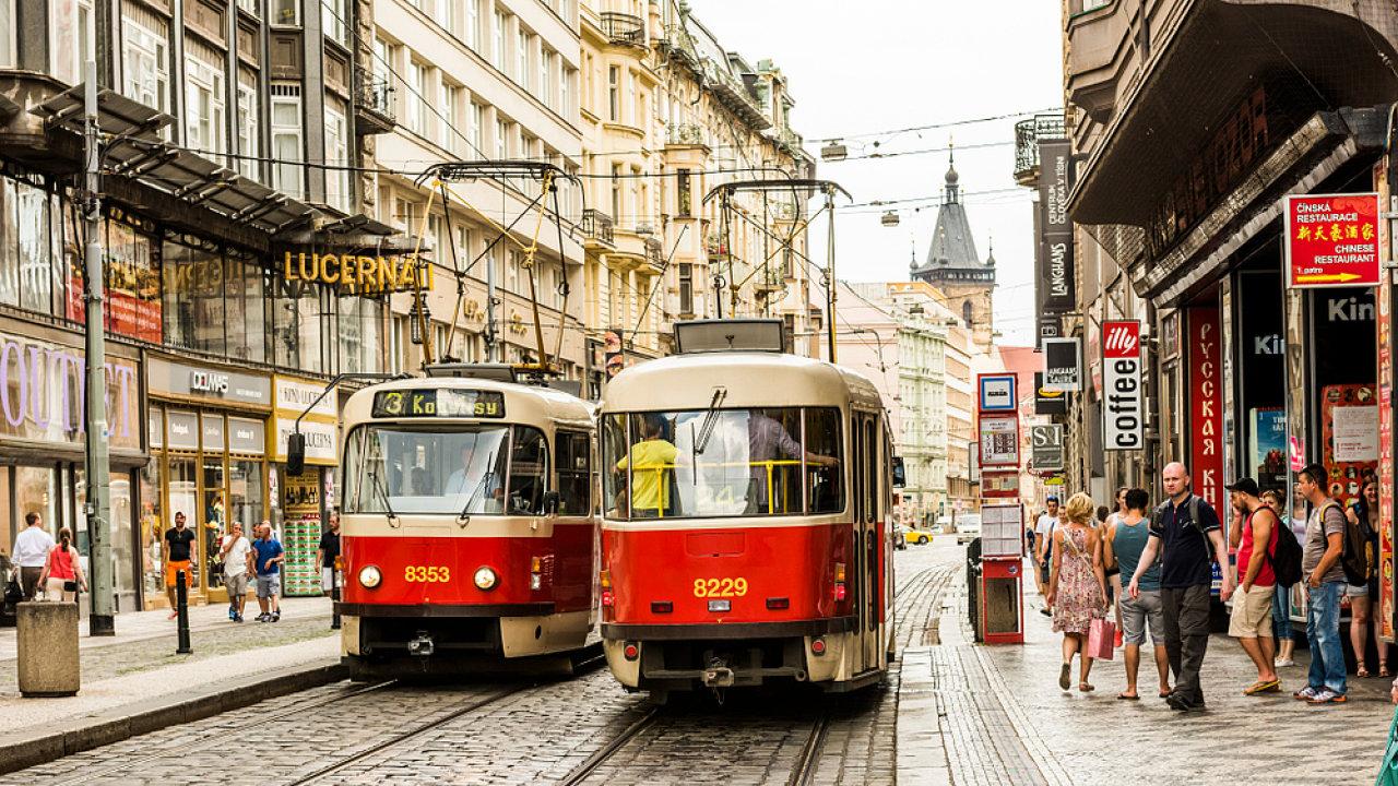 Praha, tramvaje