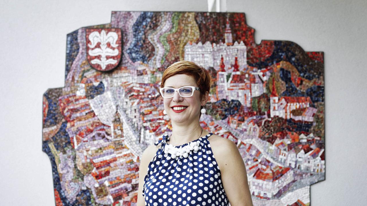 Michaela Severová, vedoucí odboru kultury a cestovního ruchu v Litomyšli a ředitelka sdružení České dědictví UNESCO.