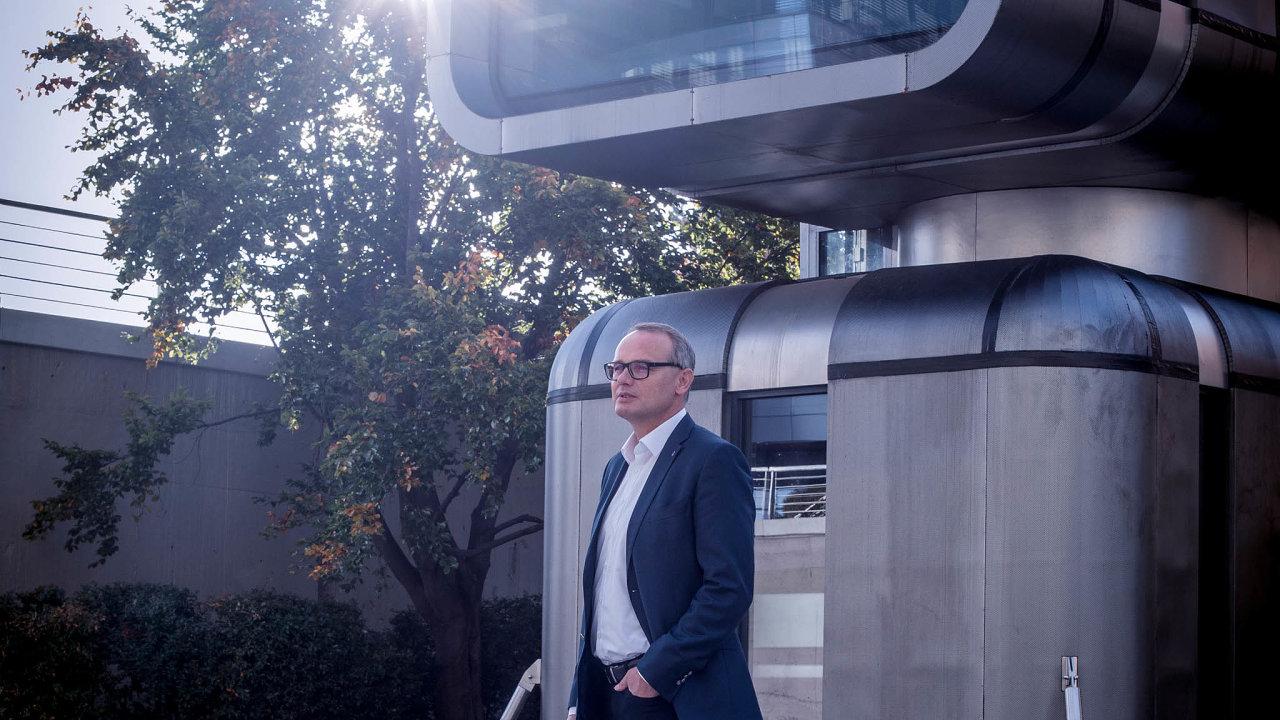 """""""Prostě se naskytla možnost založit firmu, tak jsem to udělal,"""" říká Marcel Soural o začátku Trigemy, která má dnes za sebou víc než 1600 postavených aprodaných bytů a buduje také vědecké parky."""
