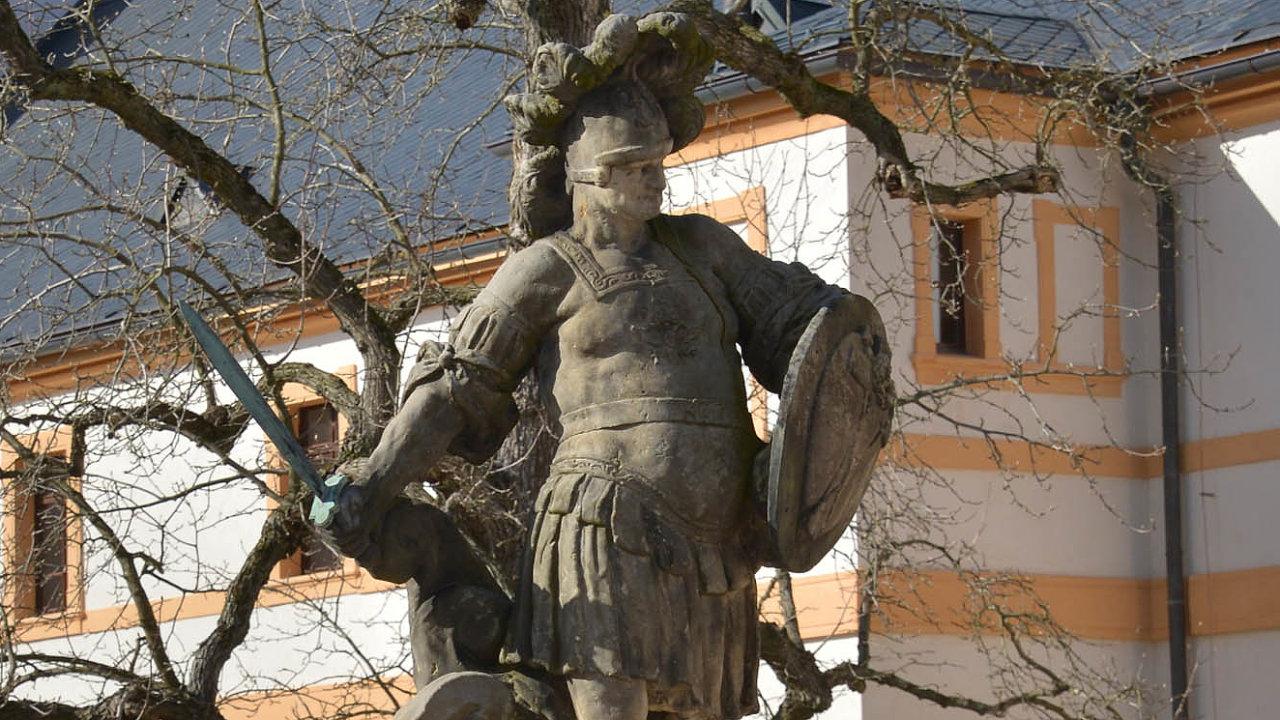 Kuks, Matyáš Braun: Velký Miles Christianus, křesťanský bojovník