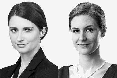 Lenka Němcová a Eva Ostruszka Klusová, partnerky advokátní kanceláře Forlex