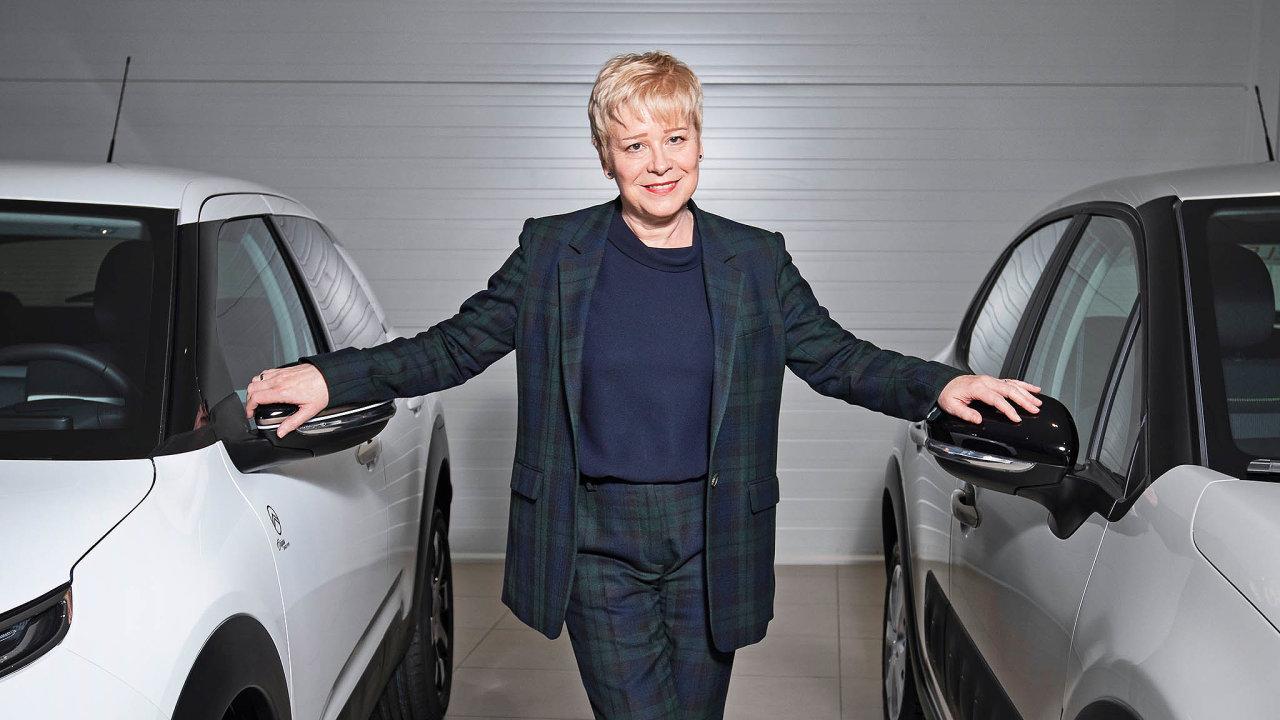 Šéfka Citroënu Linda Jacksonová