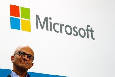Šéf společnosti Microsoft Satya Nadella.