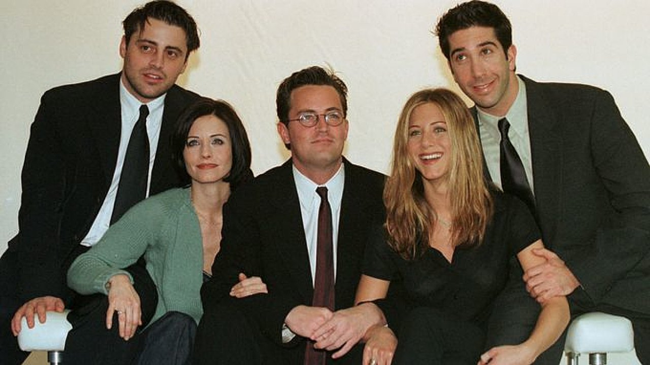 Přátelé, Friends, seriál