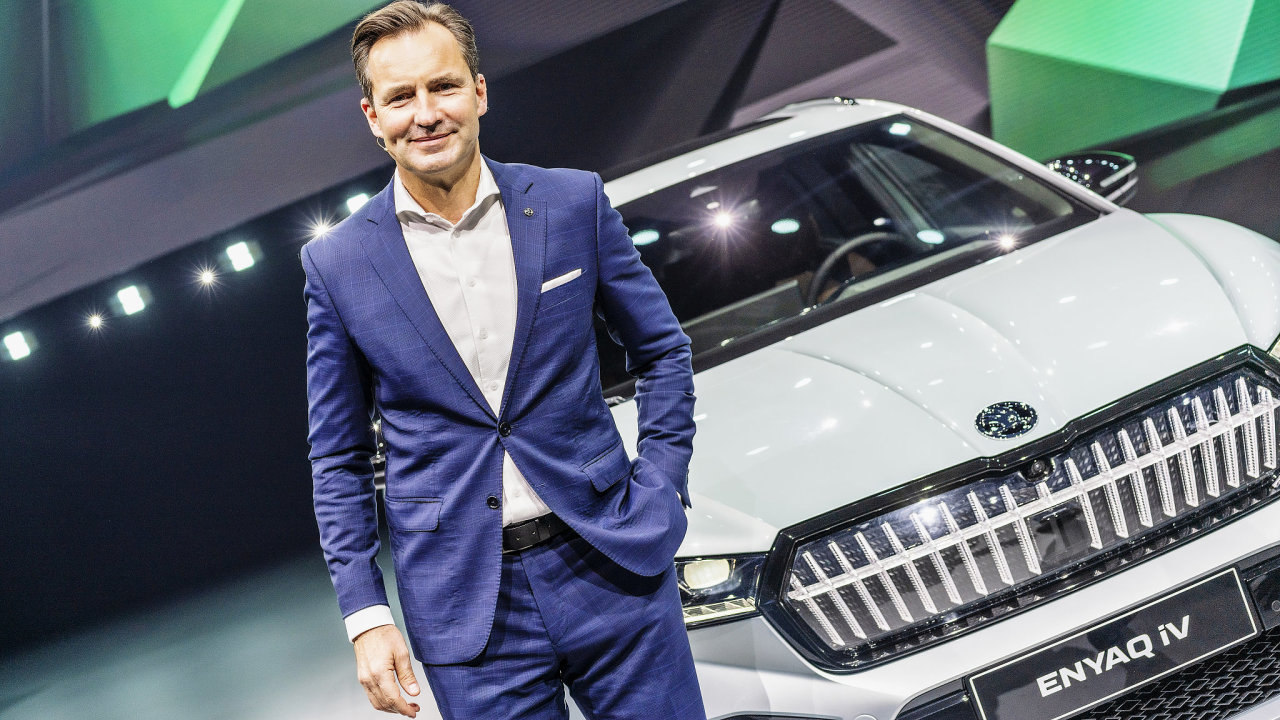 Škoda Enyaq  Thomas Schäfer