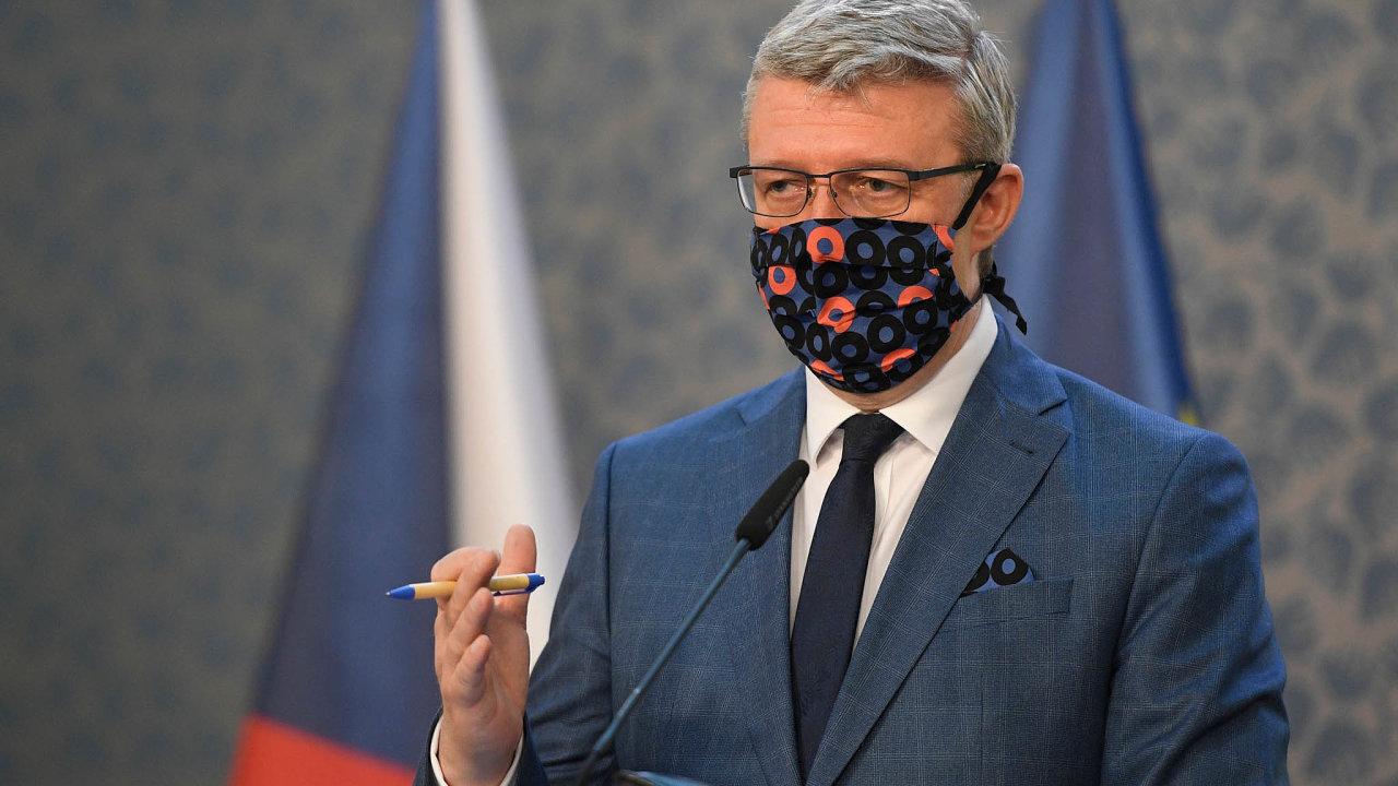 Kolik to bylo: Ministr Karel Havlíček uvedl, že každý podnikatel dostal vprůměru 80tisíc korun čistého.