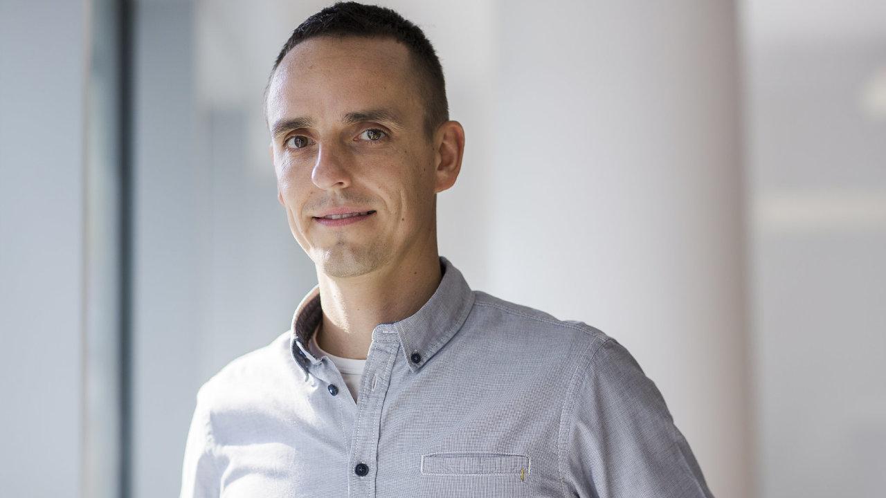 Partner fondu Psychonauts Václav Štrupl, který je za investice v oblasti duševního zdraví zodpovědný.