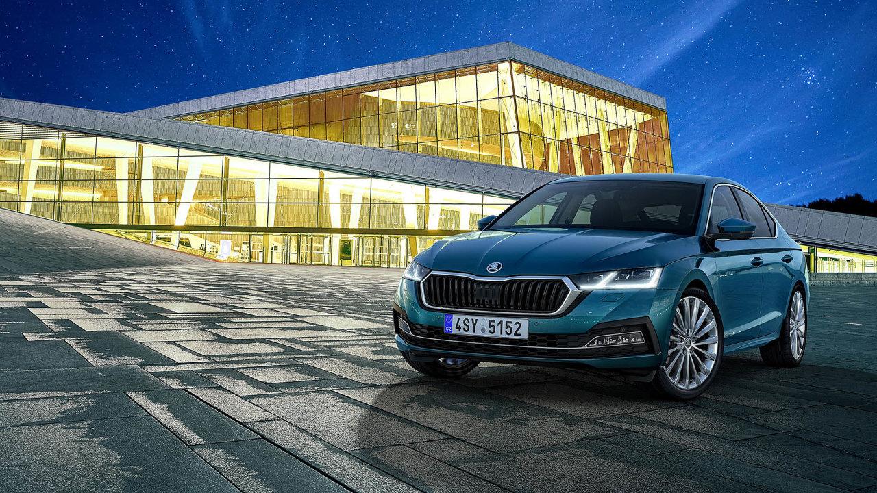 Nejprodávanější. I v propadu prodeje aut v Česku si první pozici v žebříčku těch, která jdou nejvíc na odbyt, drží Škoda Octavia.