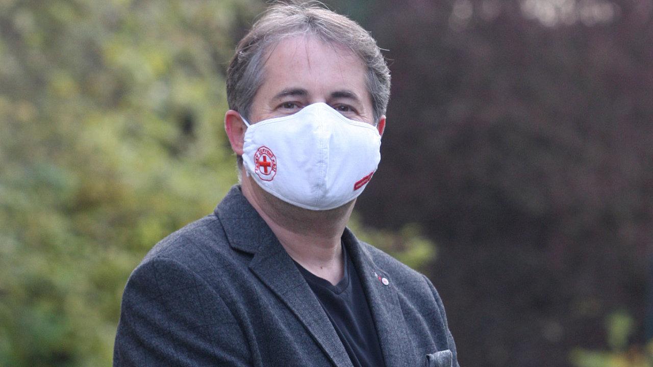 Prezident Českého červeného kříže Marek Jukl