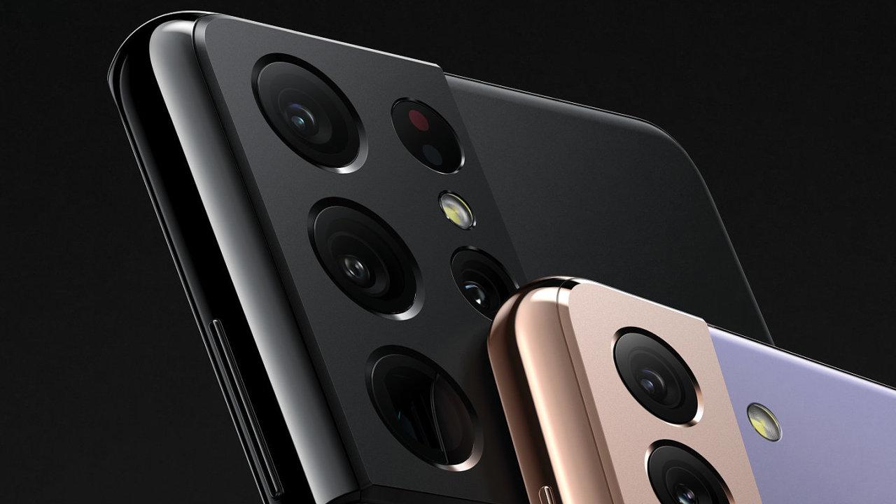 Galaxy S21 Ultra slibuje lepší zoom, všechny modely jsou hezčí, rychlejší a úspornější