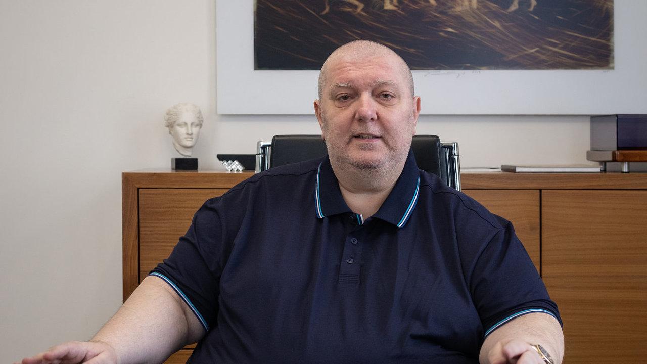 Alexandr Pavlov - šéf CK Alexandria