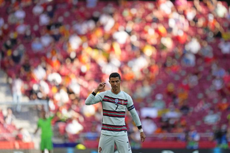 Cristiano Ronaldo, pětinásobný držitel Zlatého míče pro nejlepšího fotbalistu Evropy