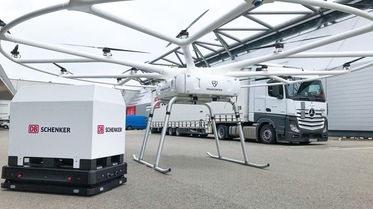 Osmnáctirotorový Volocopter podstoupil první zátěžový test.