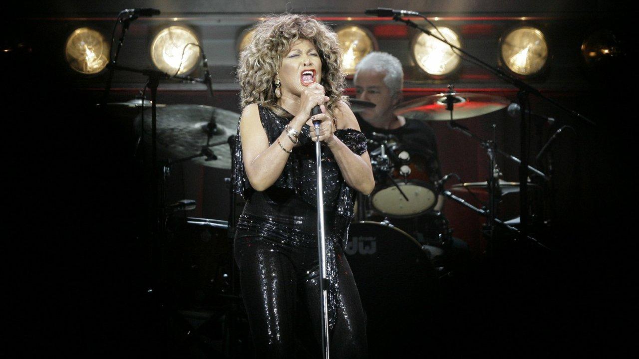Tina TURNER, zpěvačka