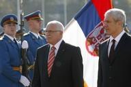 Prezidenti Klaus a Tadič
