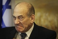 Izraelský premiér Ehud Olmert.