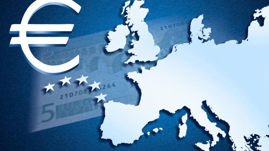 Eurozóna (ilustrační foto)