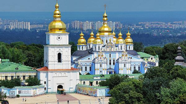 Kyjev, Ukrajina. Ilustrační foto