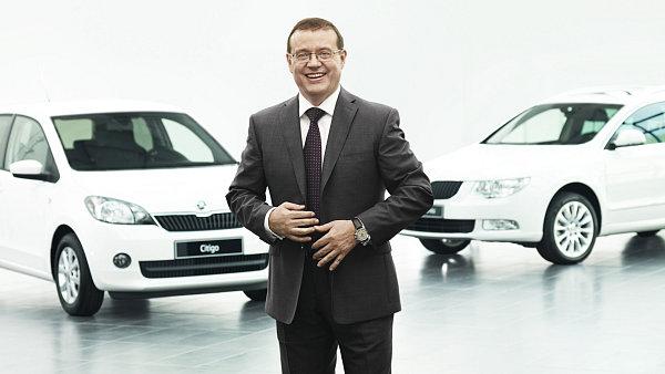 Člen představenstva společnosti Škoda Auto Bohdan Wojnar