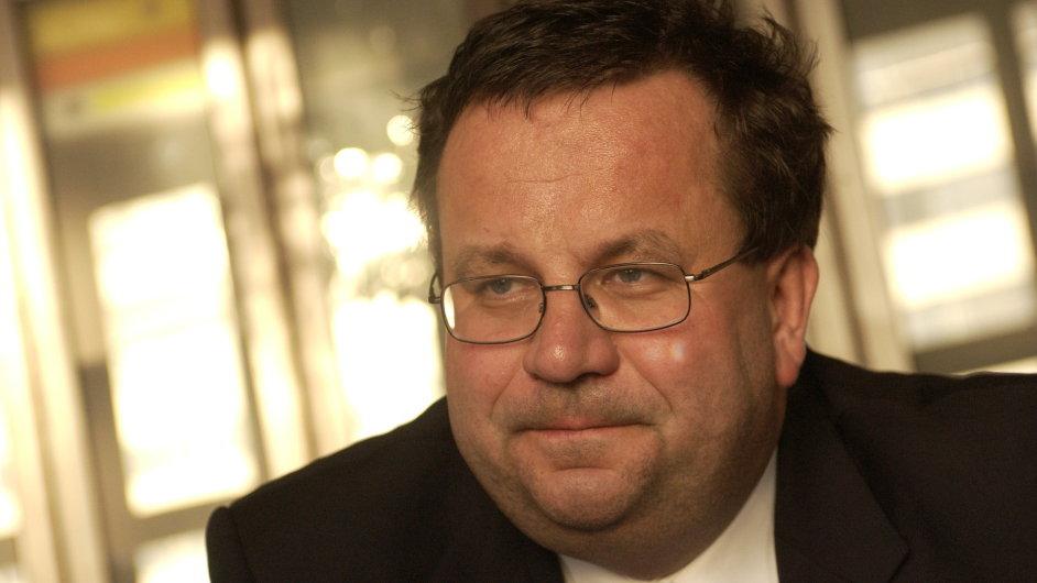 Stínový ministr financí Jan Mládek
