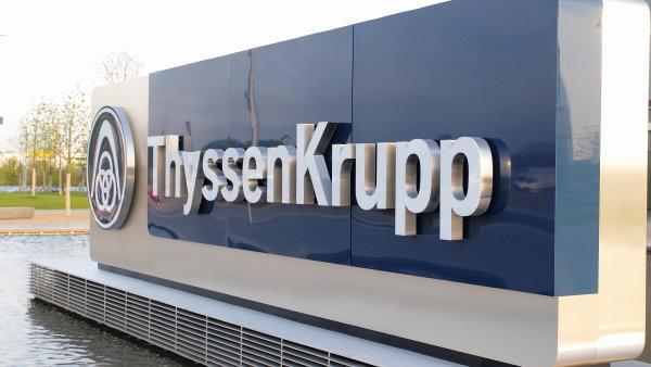 Sídlo ThyssenKrupp v Essenu