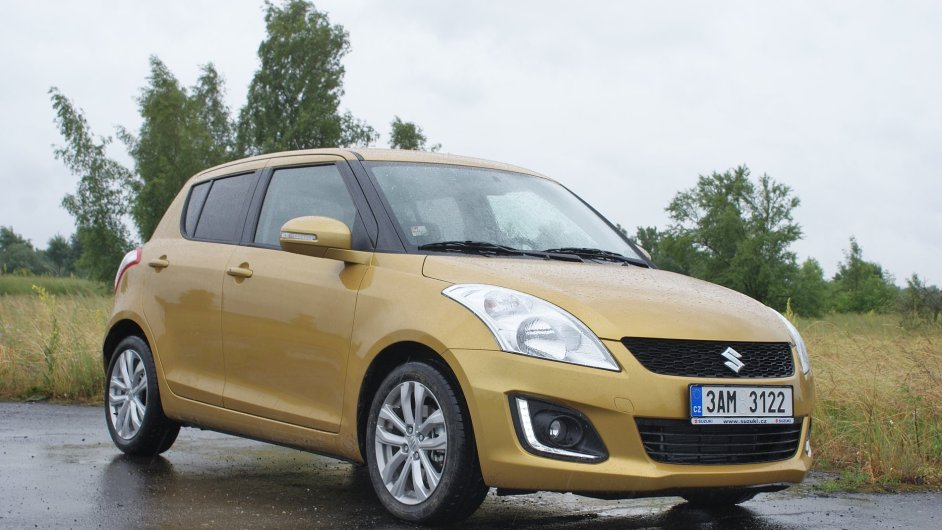 Modernizované Suzuki Swift