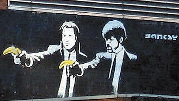 Banksyho Pulp Fiction