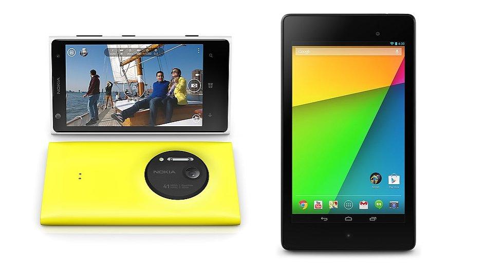Nexus 7 a Lumia 1020 mají v recenzích úspěch