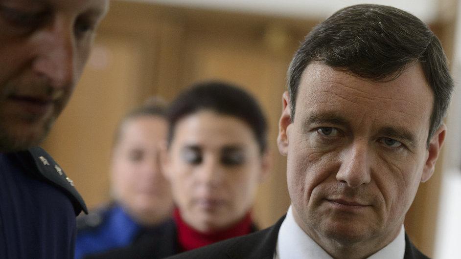 Poslanec David Rath a bývalá ředitelka kladenské nemocnice Kateřina Pancová.