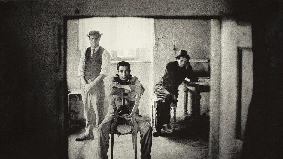 Snímky z výstavy Josefa Koudelky