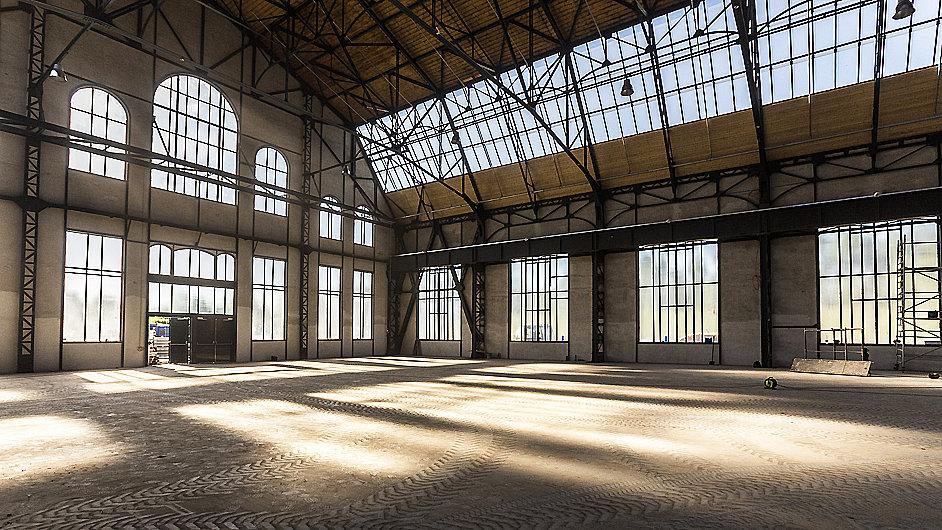 Nová galerie využije i čerstvě zrekonstruované Trojhalí Karolina.