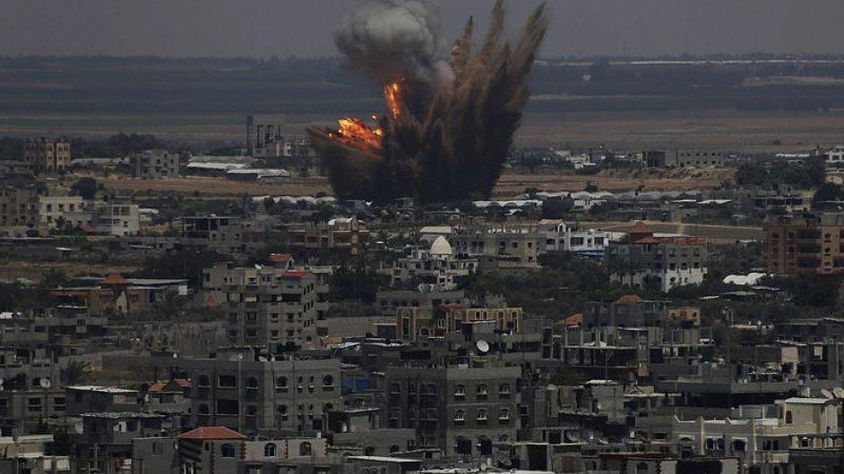 Izrael. Ostřelování mezi Izraelem a Hamásem