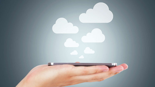 Trendy IT, cloud, ilustrace