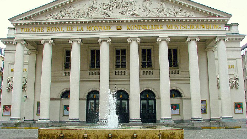 Théatre de la Monnaie je nejvýznamnější operní scénou v Belgii.