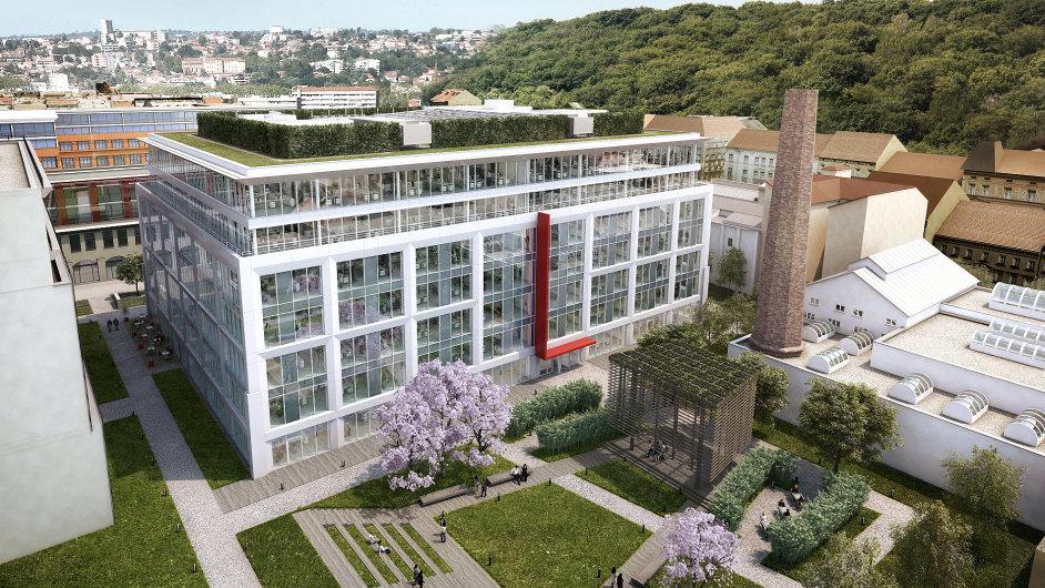 Do nových prostor v karlínském Corso Court se bude na konci roku stěhovat Skanska.