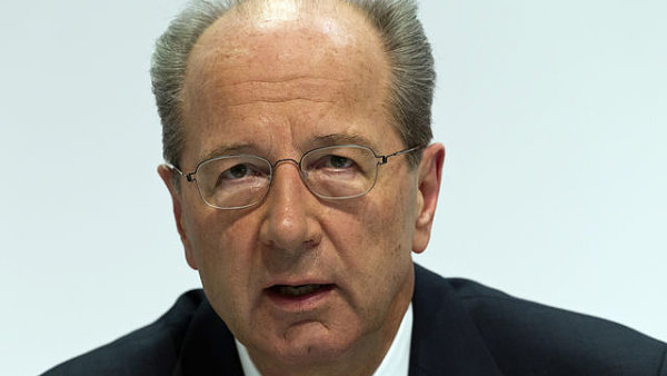 Hans Dieter Pötsch, finanční ředitel koncernu Volkswagen