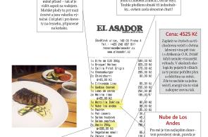 Moje účtenka: Restaurace El Asador