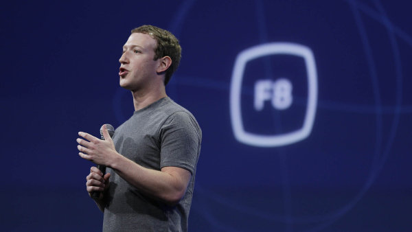 Zakladatel Facebooku Mark Zuckerberg.