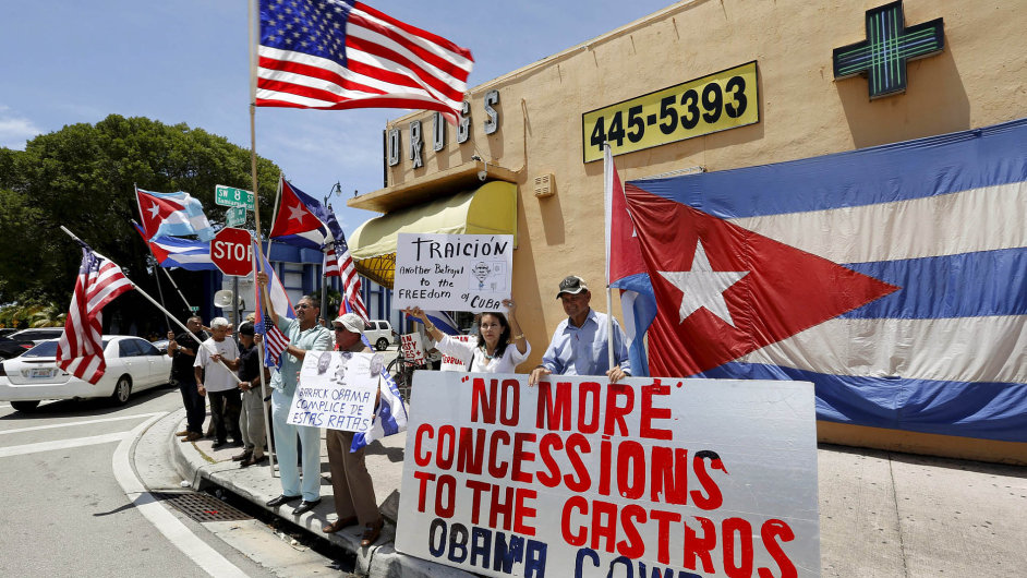 Kuba s USA se po více než padesáti letech sbližují.