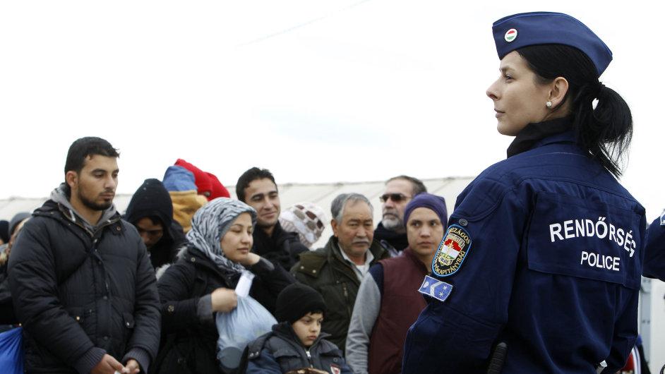 uprchlíci maďarsko