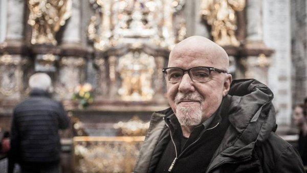 Spisovatel Paulo Coelho p�i n�v�t�v� Prahy.