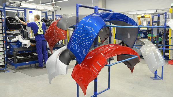 DB Schenker začal kompletuje nárazníky Magny, které jdou v režimu JIS na montážní linku Škoda Auto