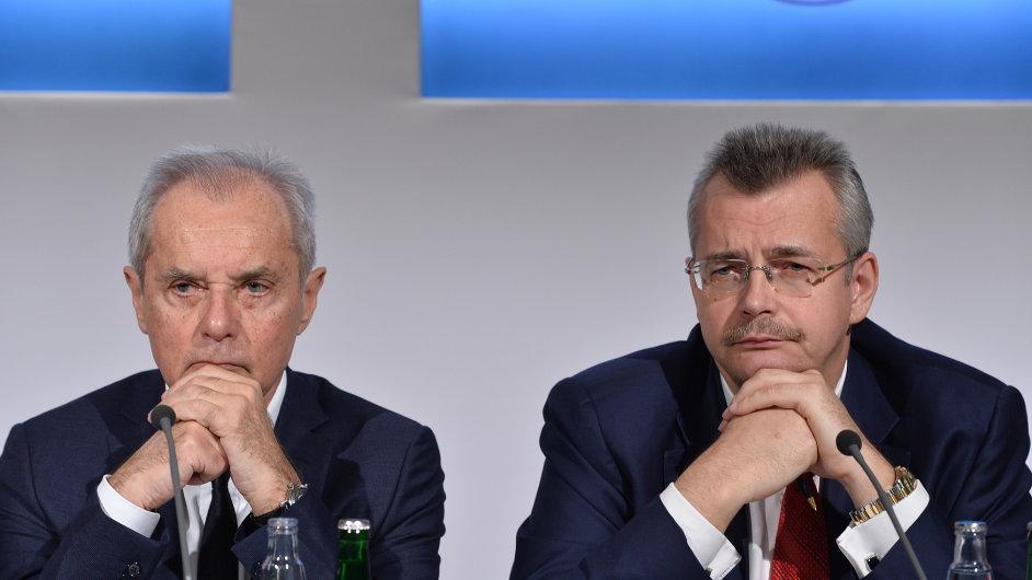 Jiří Šimáně (vlevo) a Jaroslav Tvrdík