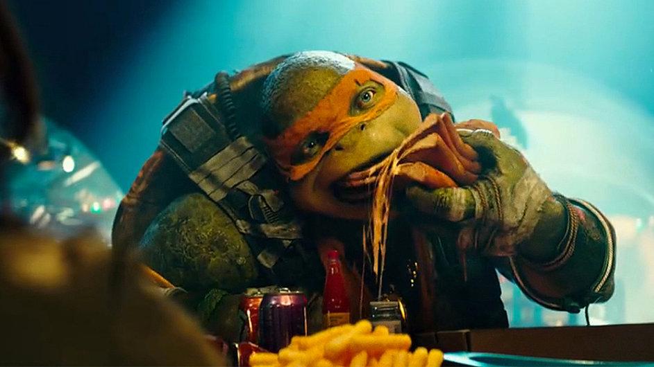 Film Želvy Ninja 2 od minulého čtvrtka promítají také česká kina.
