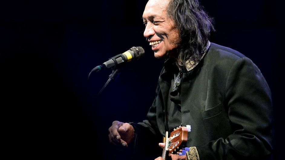 Snímek z Rodriguezova pondělního koncertu v pražském Foru Karlín.
