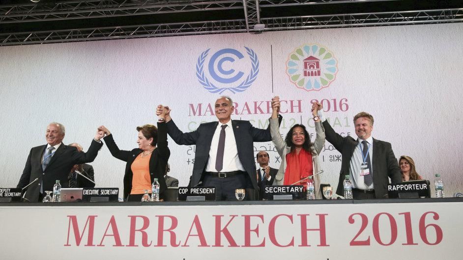 Marrakéš klimatická konference 2016