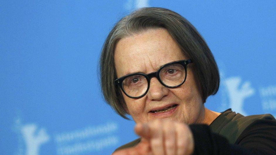 Film režisérky Agnieszky Hollandové (na snímku) Přes kosti mrtvých do kin vstoupí 20. dubna, už příští měsíc ale bude k vidění na festivalu Febiofest.