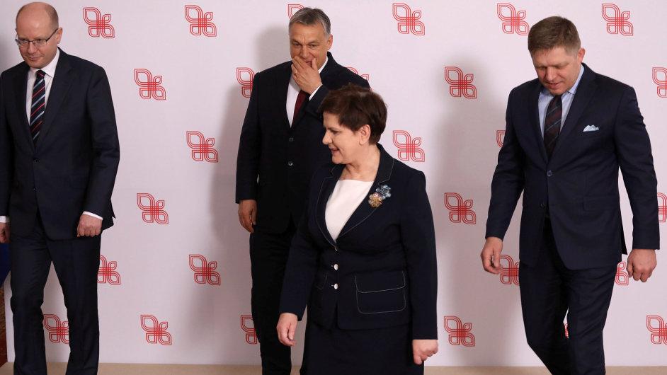 V4 Polsko, Summit