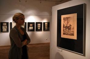 Výstava v Ústí nad Labem připomíná regionálního výtvarníka Doerella, maloval České středohoří, hrady či zámky